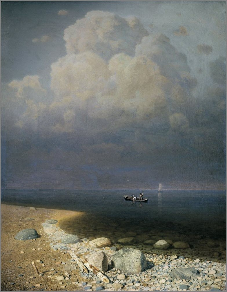 Ладожское озеро картина