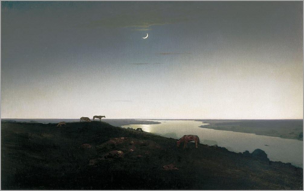 Ночное картина