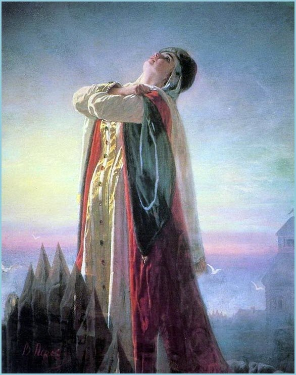 Плач Ярославны картина