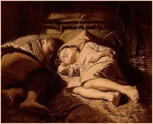 Спящие дети картина