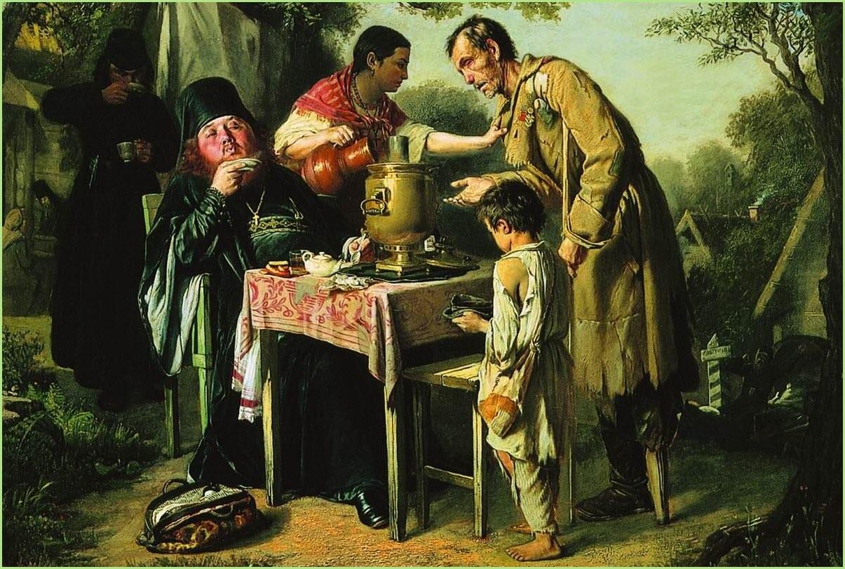 Чаепитие в Мытищах картина