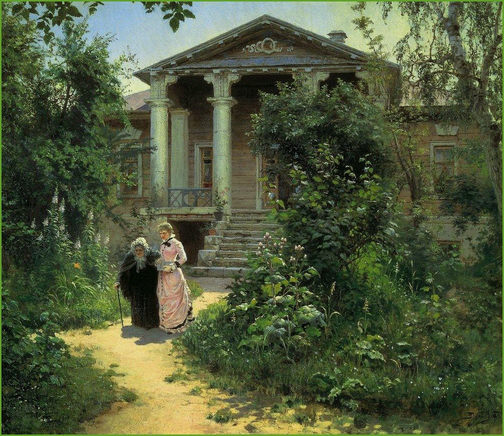 Бабушкин сад картина