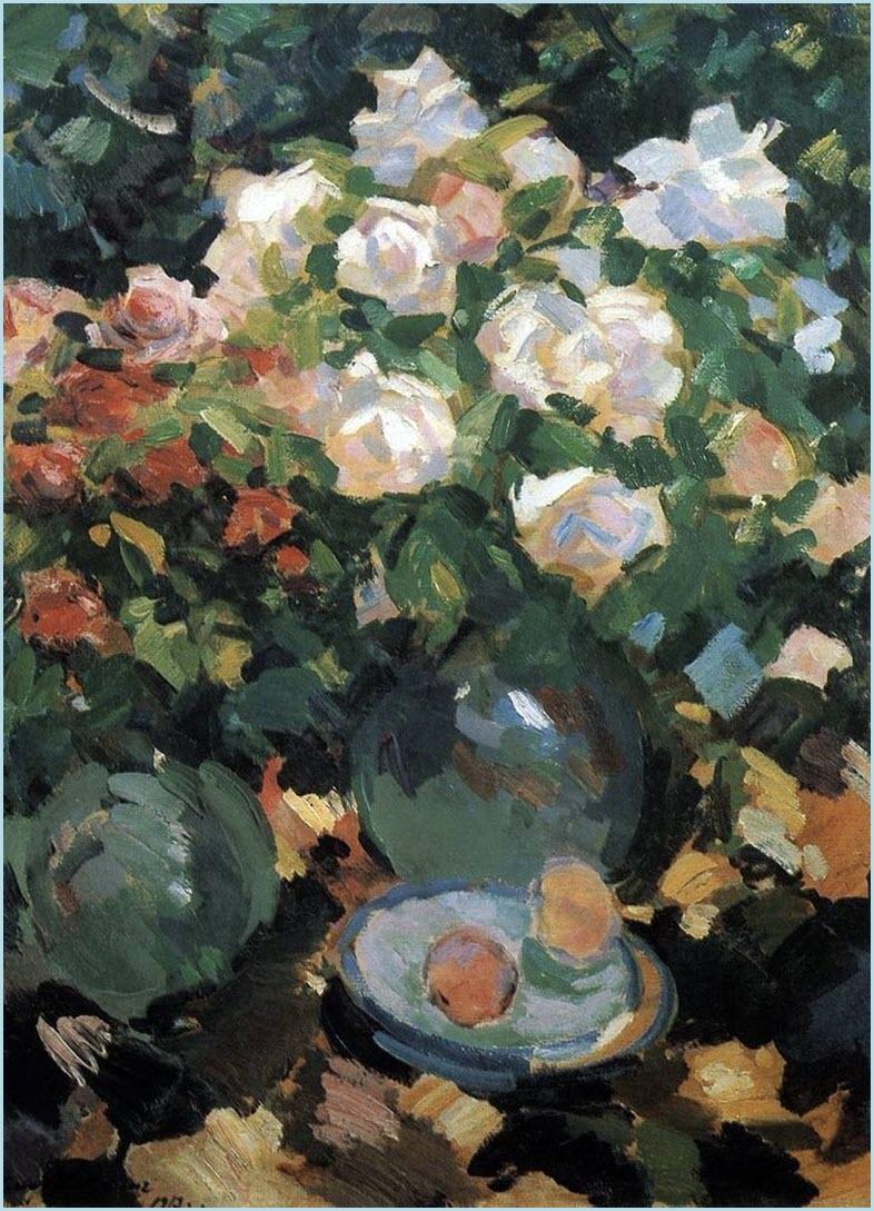 Розы картина 2