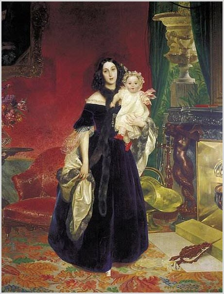портрет матери и дочери