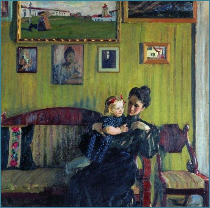 Жена кустодиева