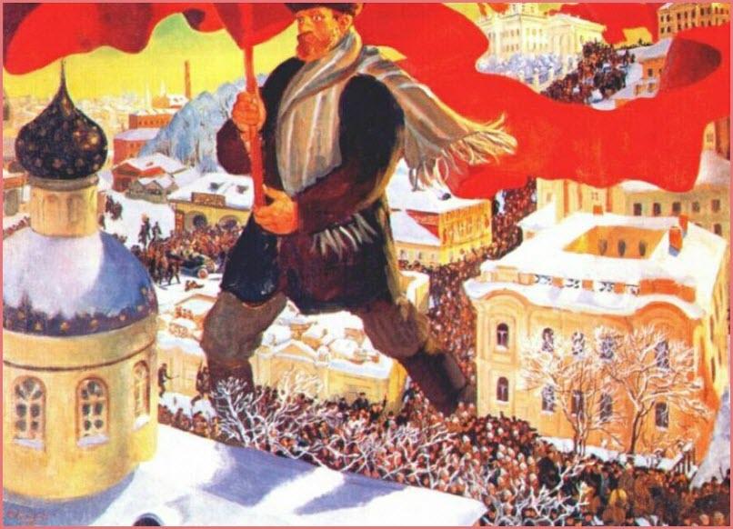 Большевик картина