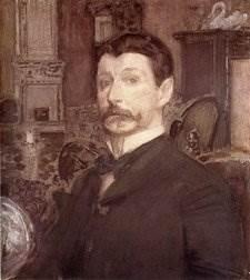 Портрет Врубеля