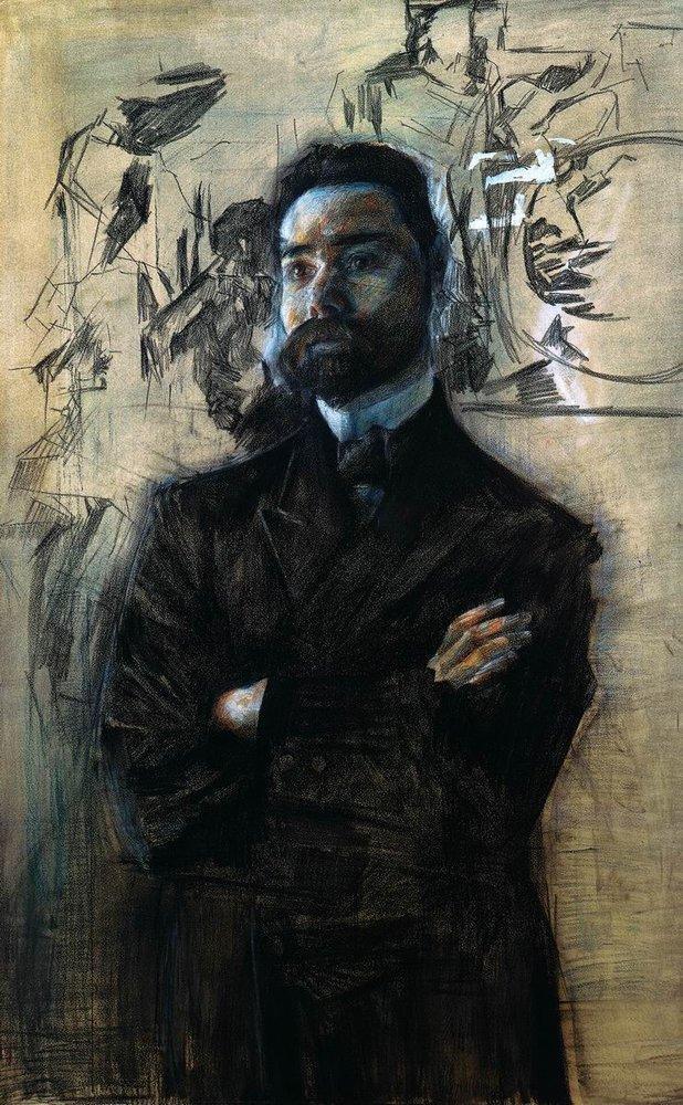 Портрет Брюсова