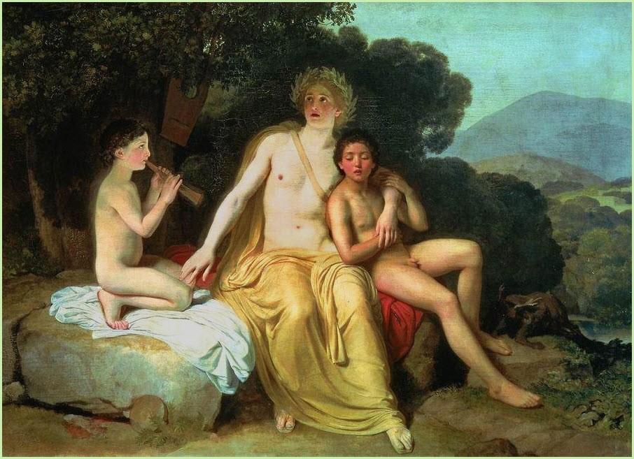Аполлон Гиацинт и Кипарис