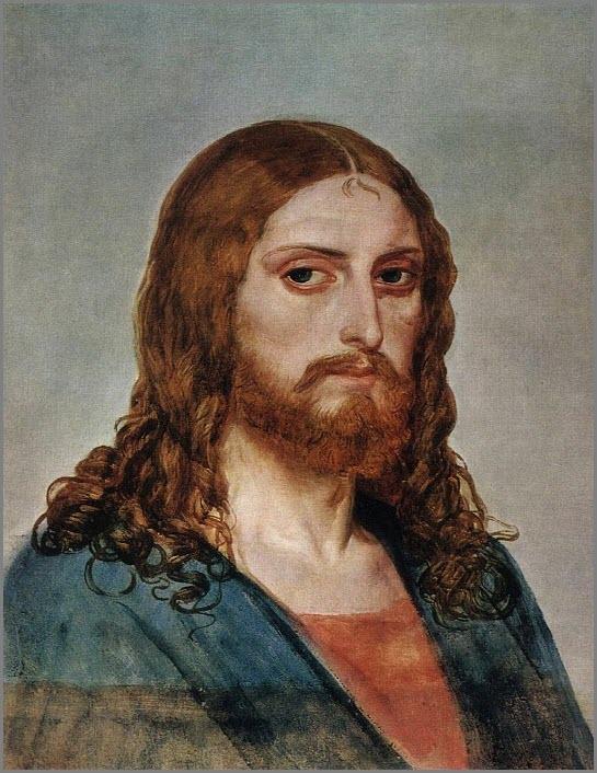 голова христа картина