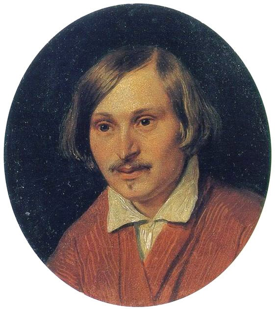 портрет гоголя иванов