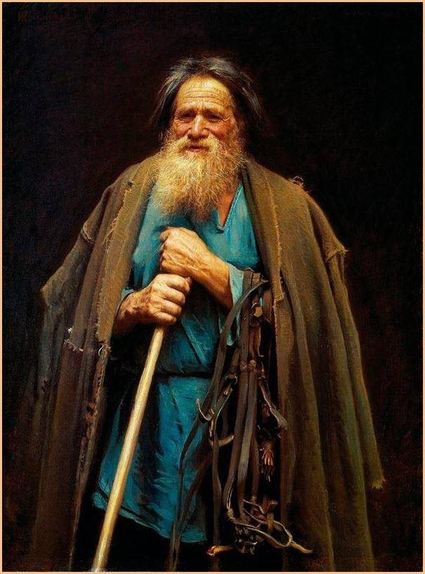 Крестьянин с уздечкой картина
