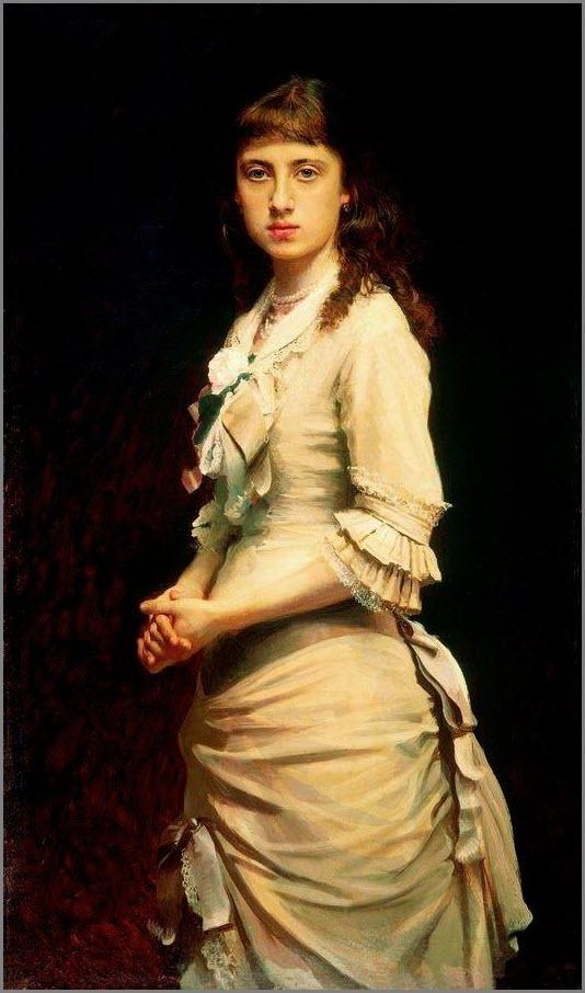 Портрет дочери Крамской