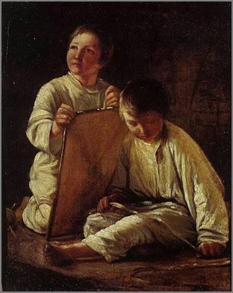 Мальчики картина