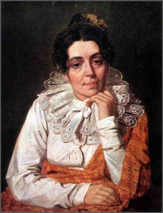 Жена картина