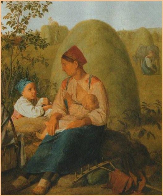 Сенокос картина