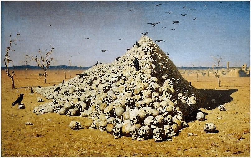 Апофеоз войны картина