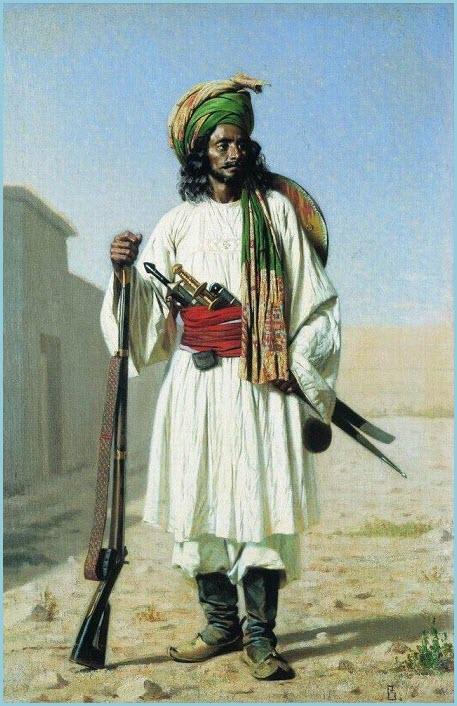 Афганец картина