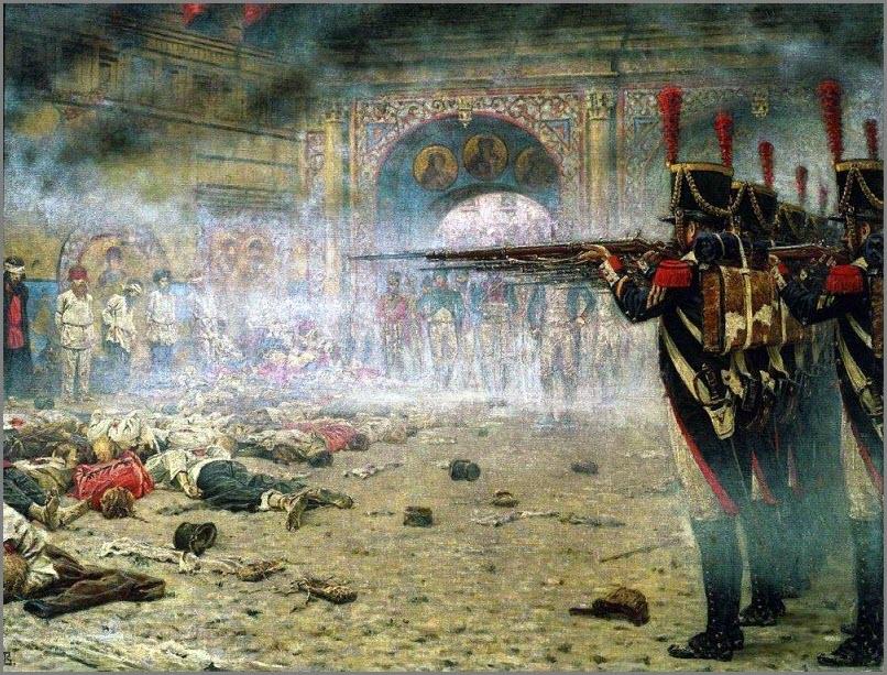 В покорённой Москве