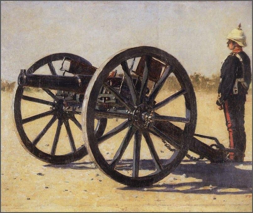 Пушка картина
