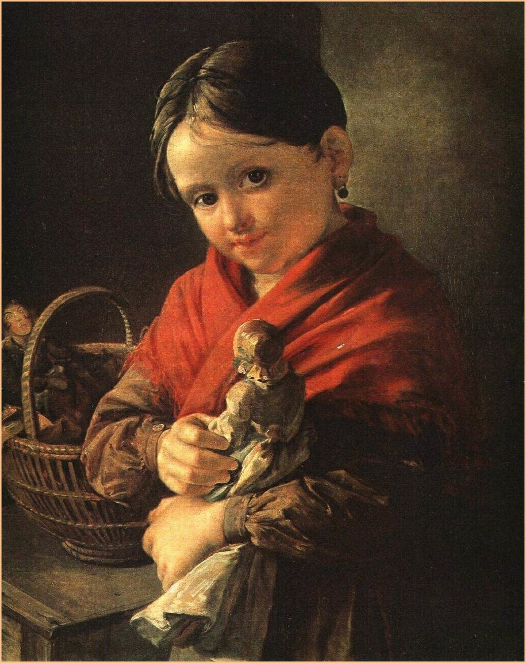 Девочка с куклой 2