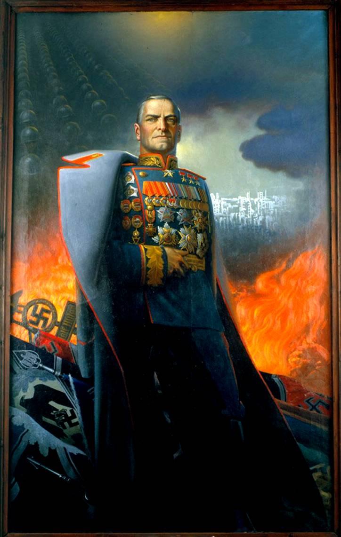 Маршал Жуков картина