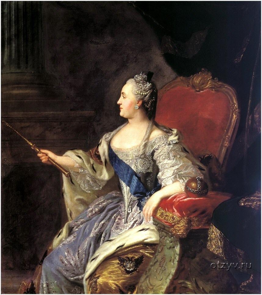 Портрет Екатерины II