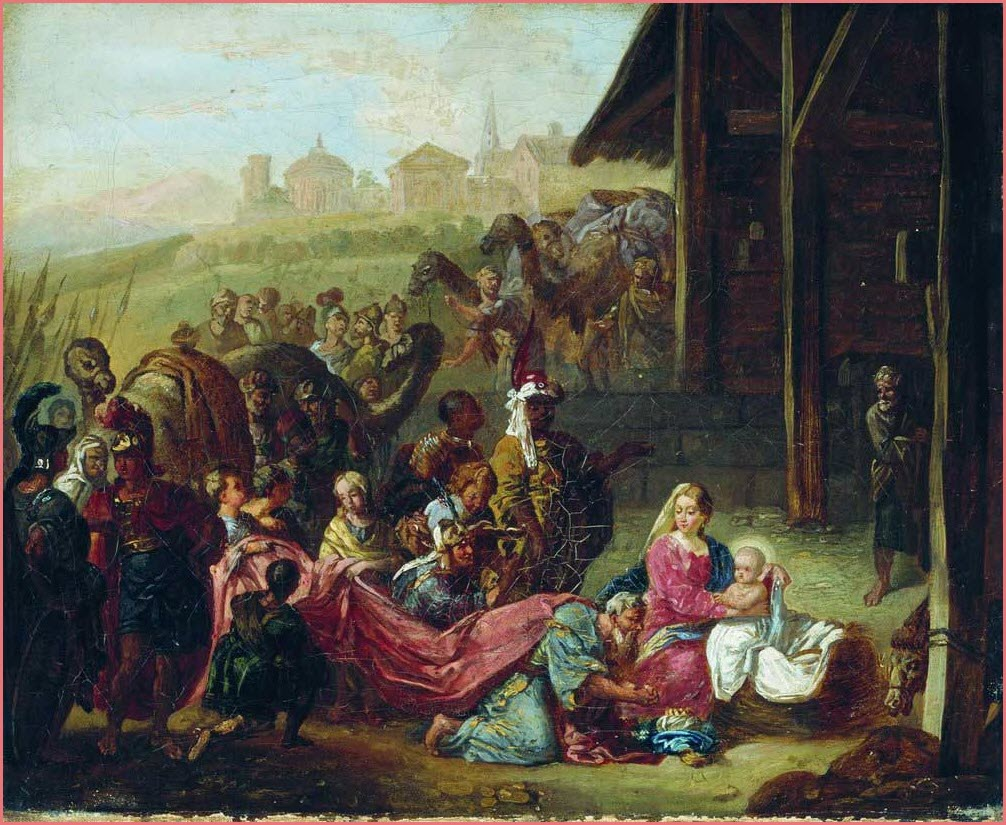 Святое семейство картина