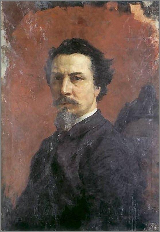Портрет Семирадского