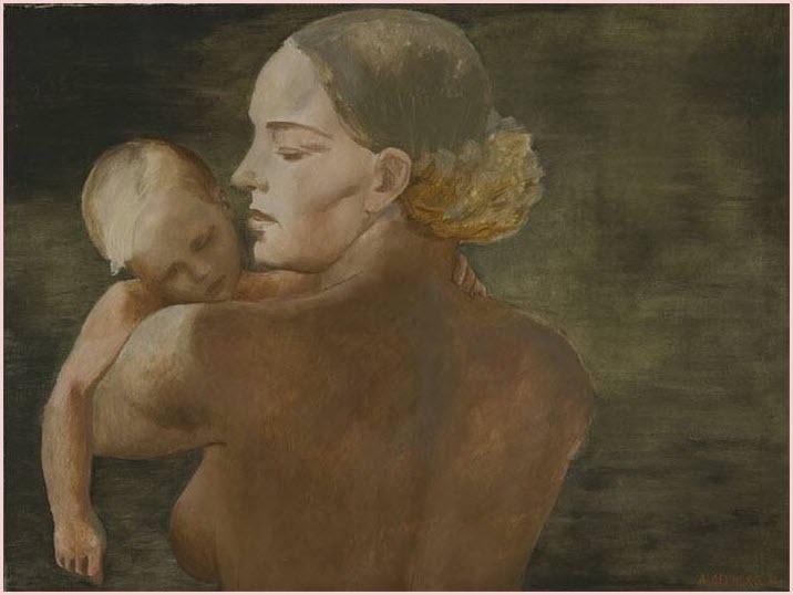 Картина мать
