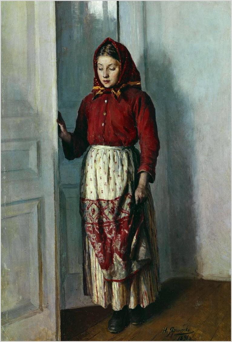девушка-крестьянка