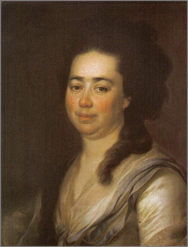 Портрет Бакуниной
