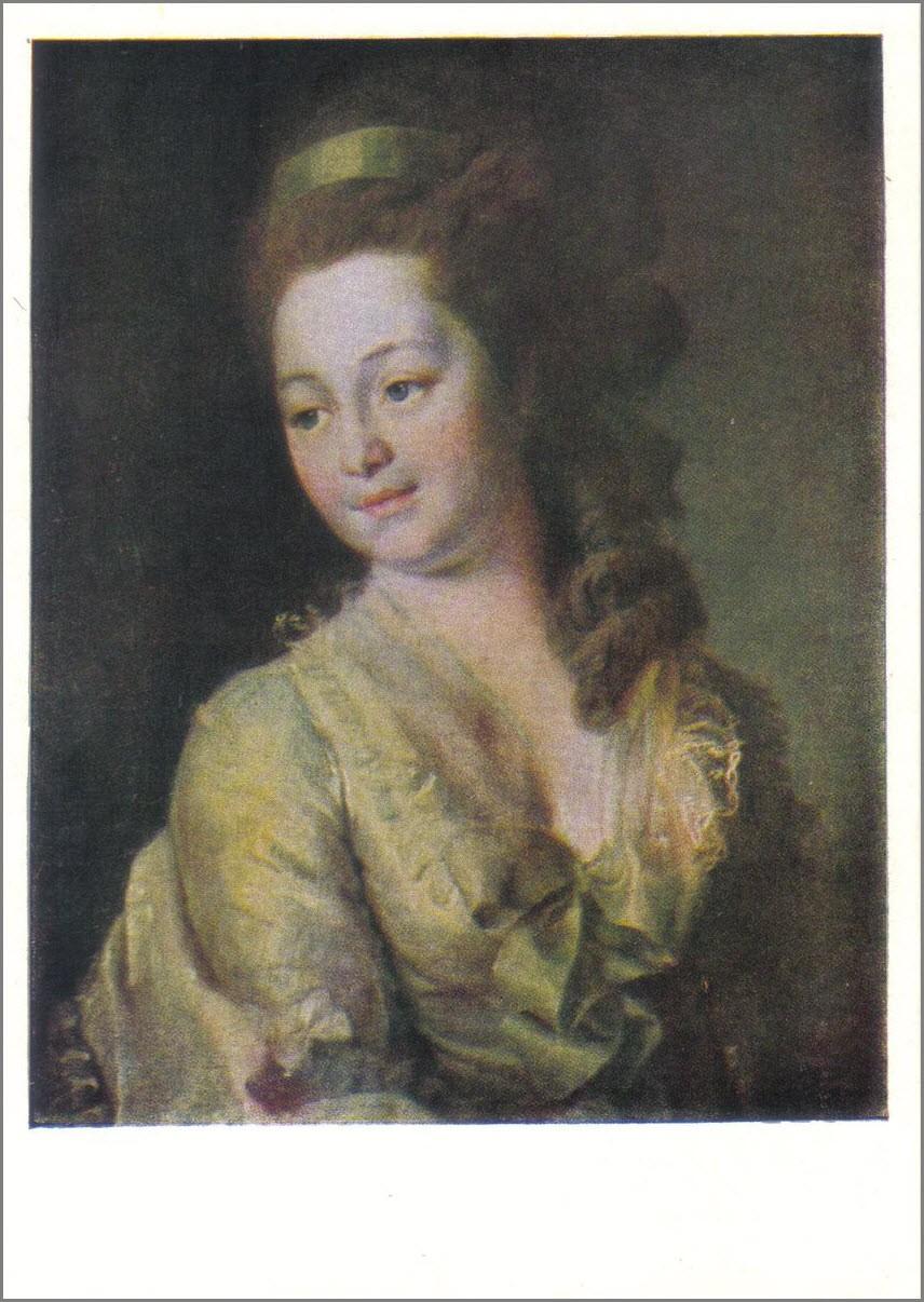 Портрет Дьяковой