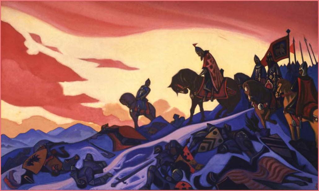 Александр Невский картина