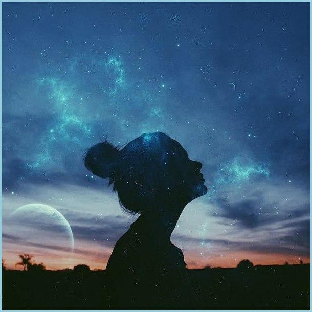Ночное небо картинка