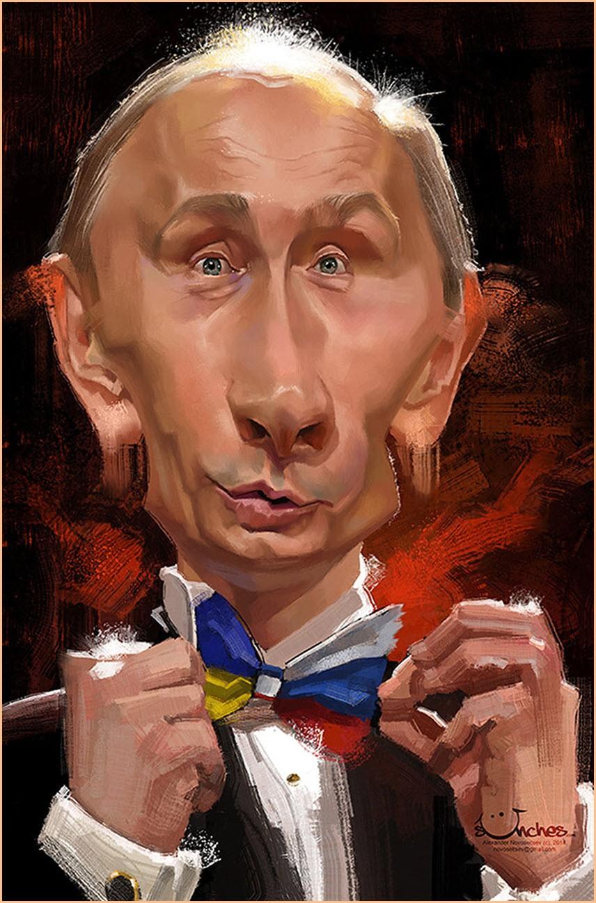 Шарж на Путина 2
