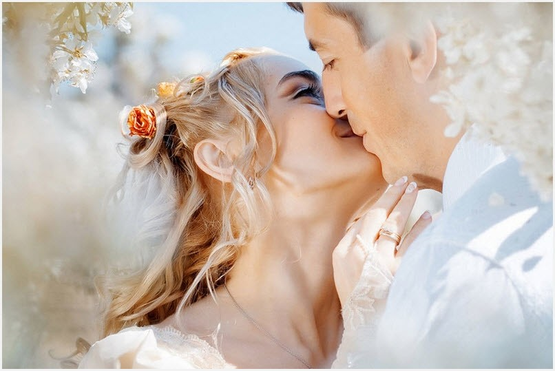 Любовный поцелуй