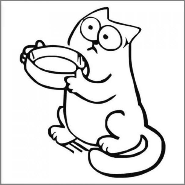 Кот Саймона картинка