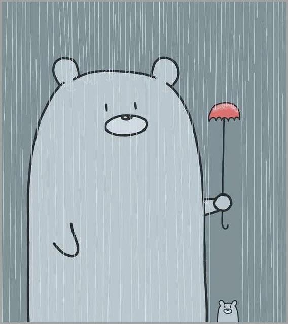 Мультяшный медведь