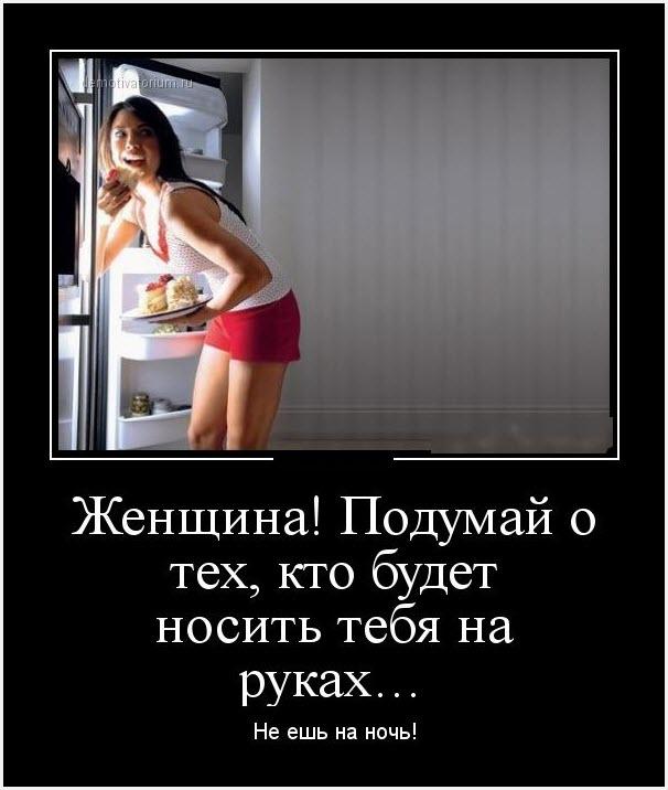 Демотиватор холодильник