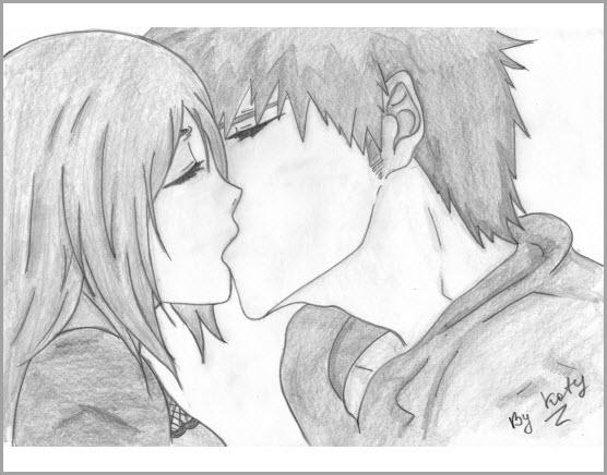 Поцелуй картинка