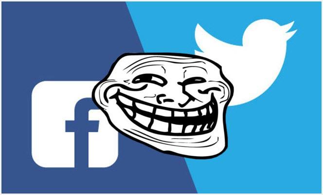Троллинг в соцсетях