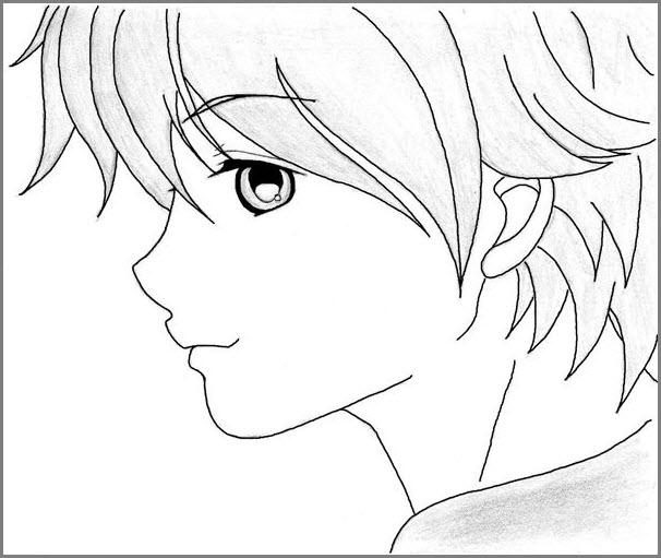 мальчик аниме 3