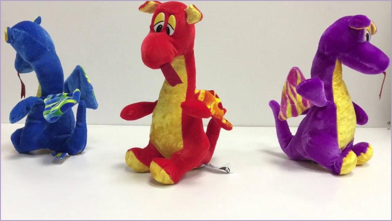 драконы из пластилина 4