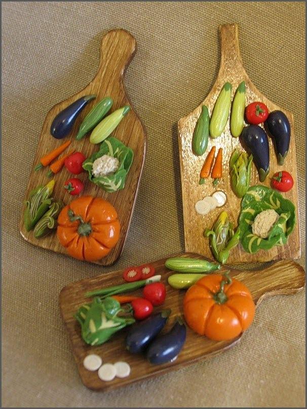 овощи из пластилина 5