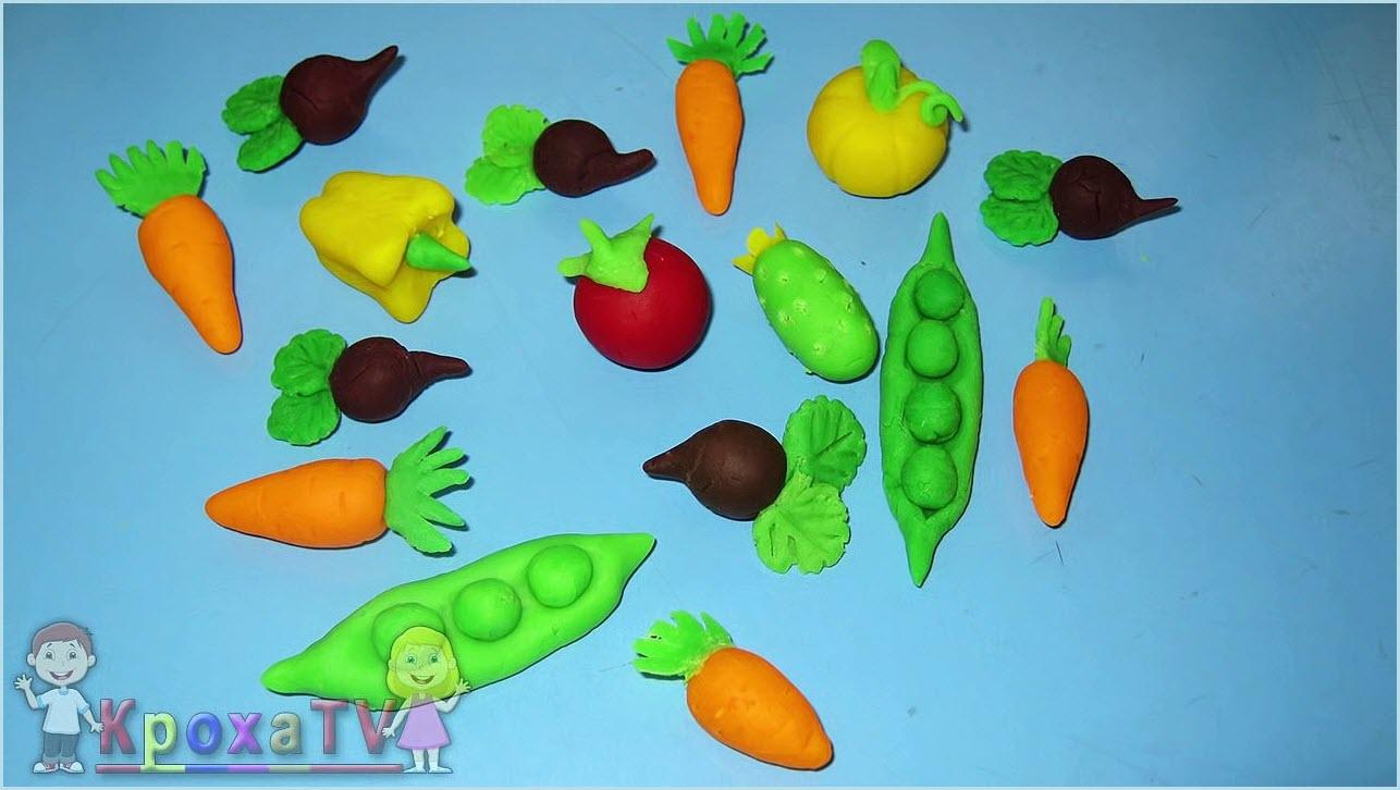 овощи из пластилина 7