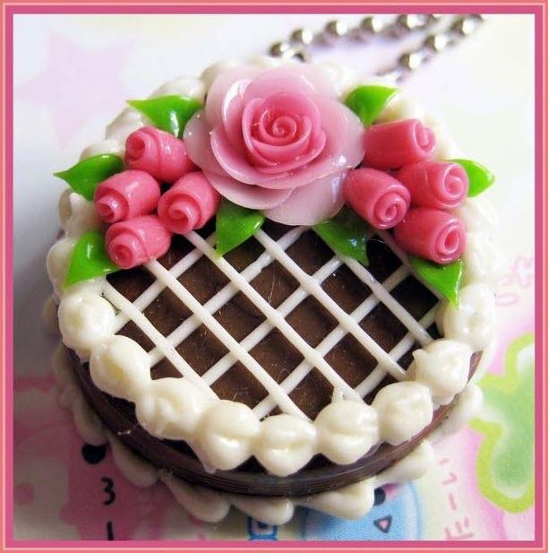 торт из пластилина 3