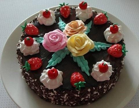 торт из пластилина 10