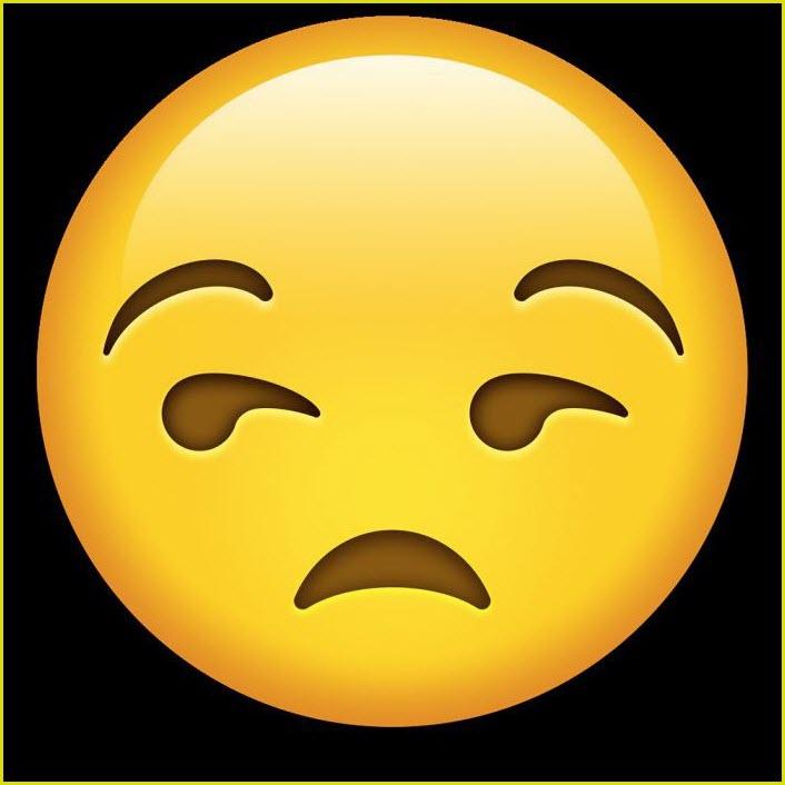 эмодзи грустный