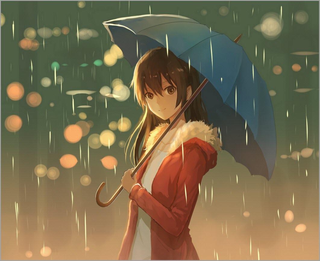 девушка аниме арт 2